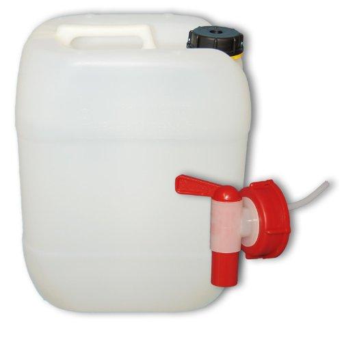 h nersdorff wasserkanister eco mit festmontiertem ablasshahn wasserauslauf 12 liter made in. Black Bedroom Furniture Sets. Home Design Ideas