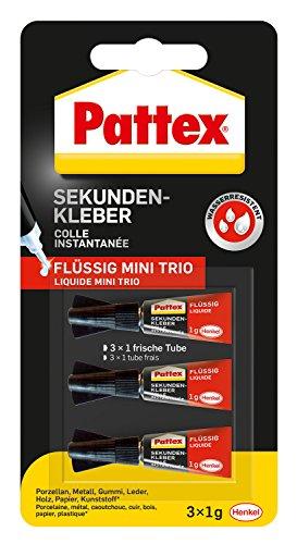 Baustoffe & Holz Psg5c Moderne Techniken Heimwerker Pattex Sekundenkleber Ultra Gel Matic 3 G