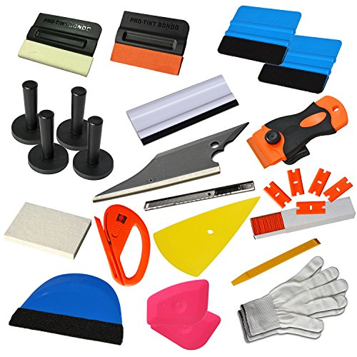 ehdis neue upgrade vinyl wrap tools set kits auto fenster. Black Bedroom Furniture Sets. Home Design Ideas