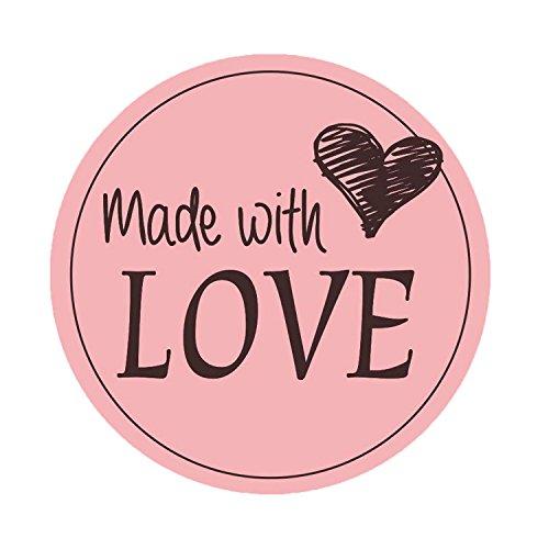 Top 9 Handmade with Love - Scrapbooking-Sticker - Cetinu